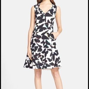 {Kate Spade} New York Butterfly Fit & Flare Dress